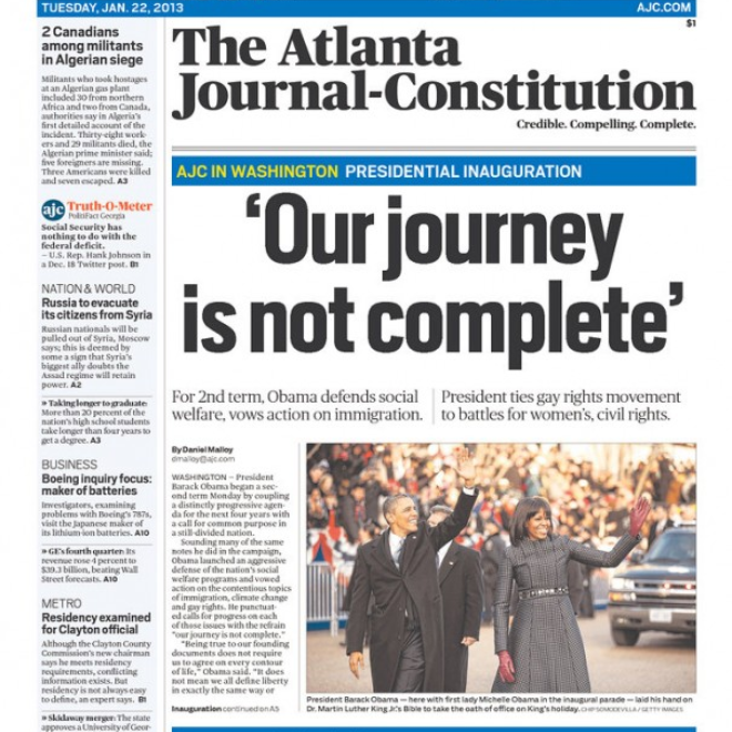 Explore Atlanta Journal Constitution archive, both historical and recent editions. Find archives for The Atlanta Constitution, Mundo Hispanico.