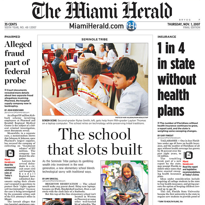 Follow the Miami Herald newspaper for the latest headlines on South Florida news. Find daily local breaking news, opinion columns, videos and community events.