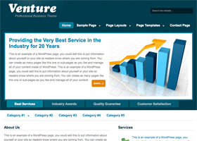 Employer Website | Venture Theme