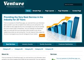 Employer Website | Venture Theme
