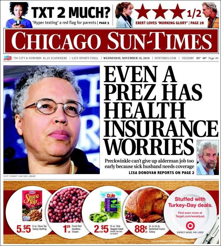 PERM Advertising Chicago Sun-Times