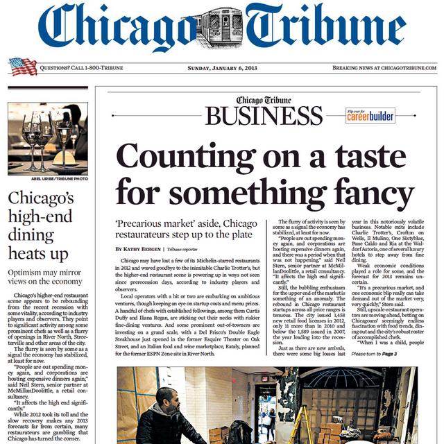 PERM Advertising Chicago Tribune