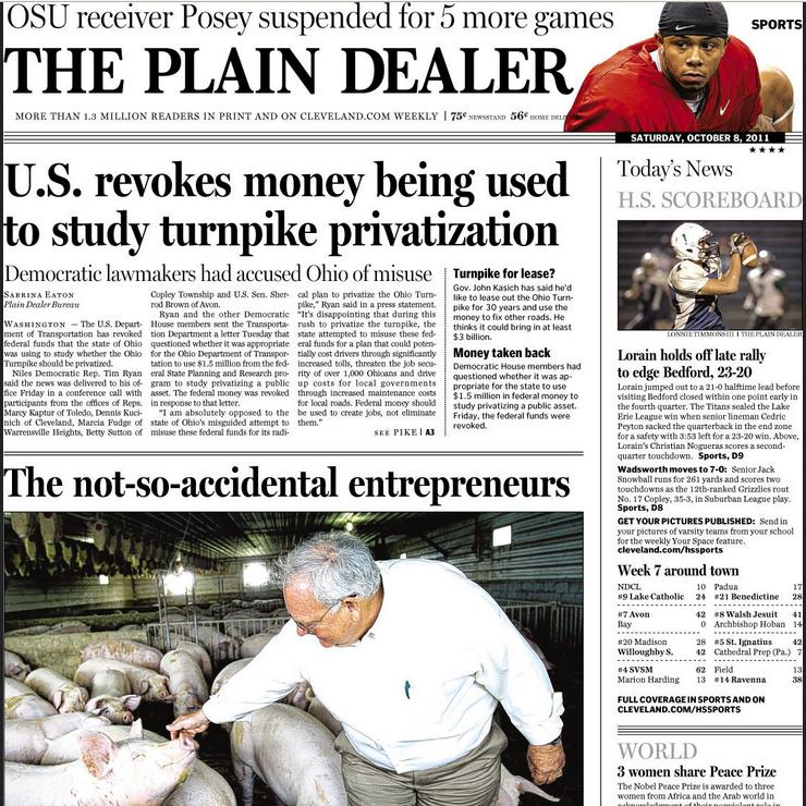 PERM Advertising Cleveland Plain Dealer