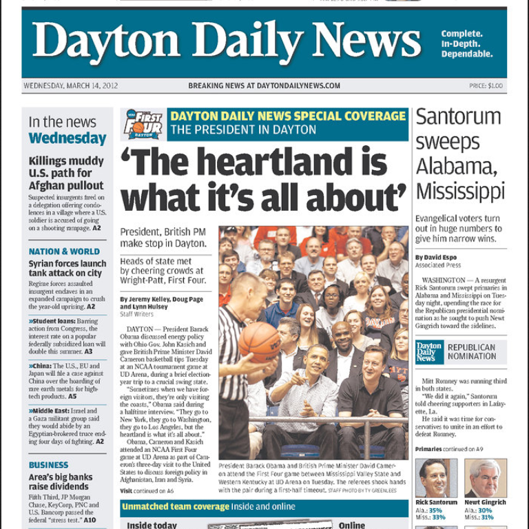 PERM Advertising Dayton Daily News