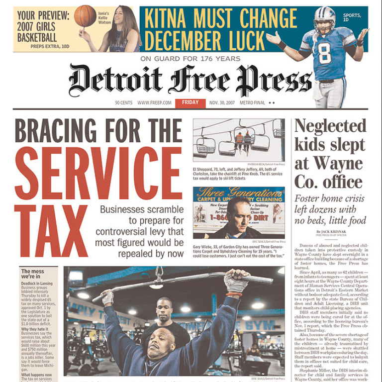PERM Advertising Detroit Free Press