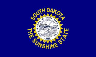 Flag of South Dakota (1909)
