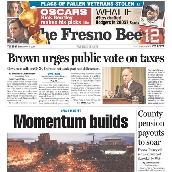 PERM Advertising Fresno Bee