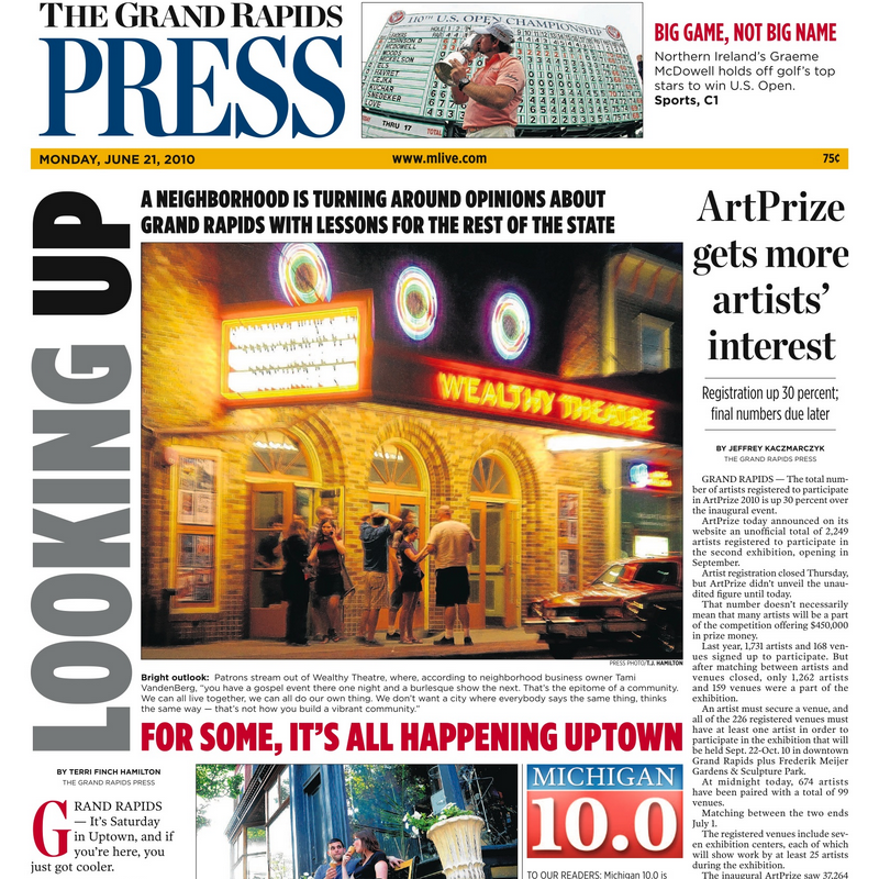 PERM Advertising Grand Rapids Press