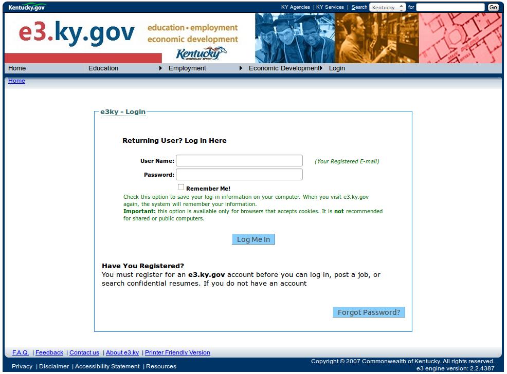 Kentucky SWA Job Order PERM Ads Immigration Advertising