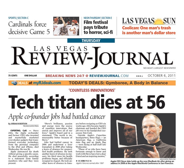PERM Advertising Las Vegas Review-Journal