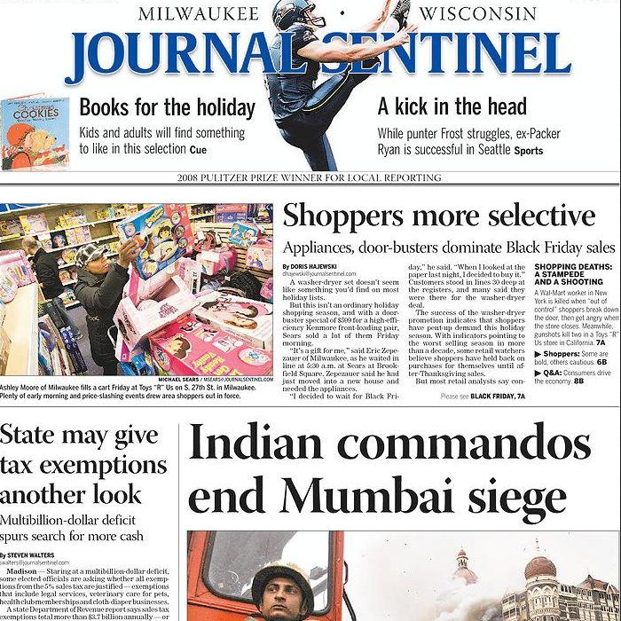 PERM Advertising Milwaukee Journal Sentinel
