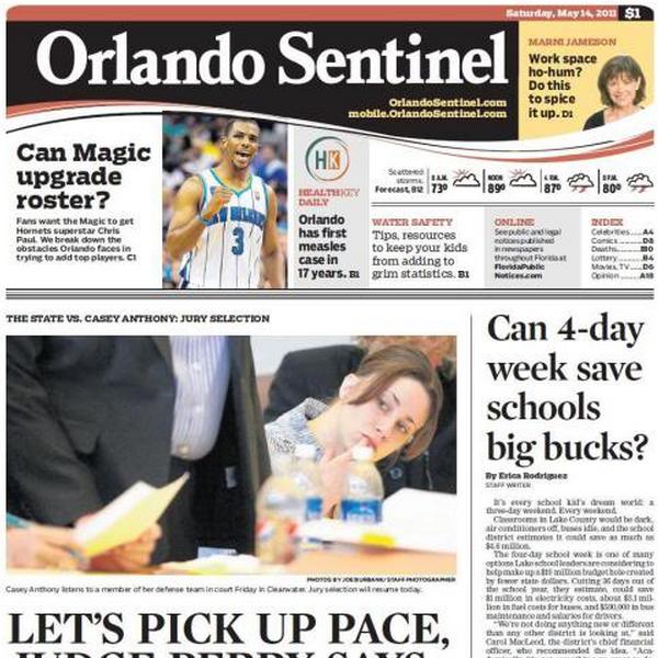 PERM Advertising Orlando Sentinel