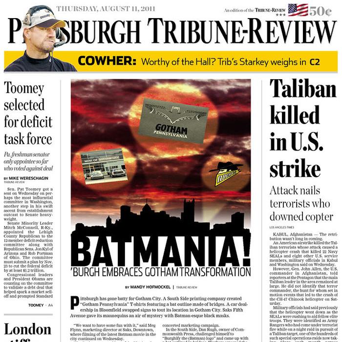 PERM Advertising Pittsburgh Tribune-Review