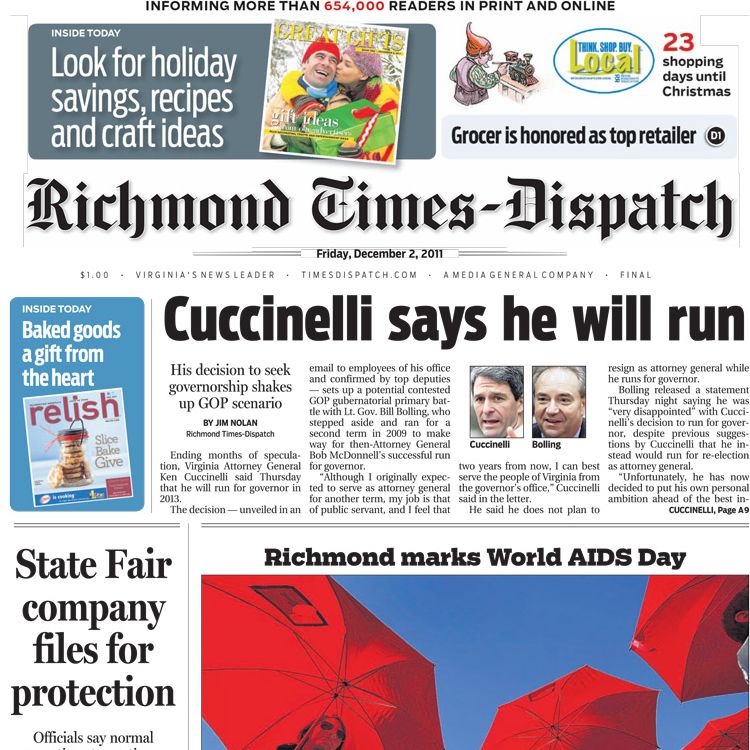 PERM Advertising Richmond Times-Dispatch