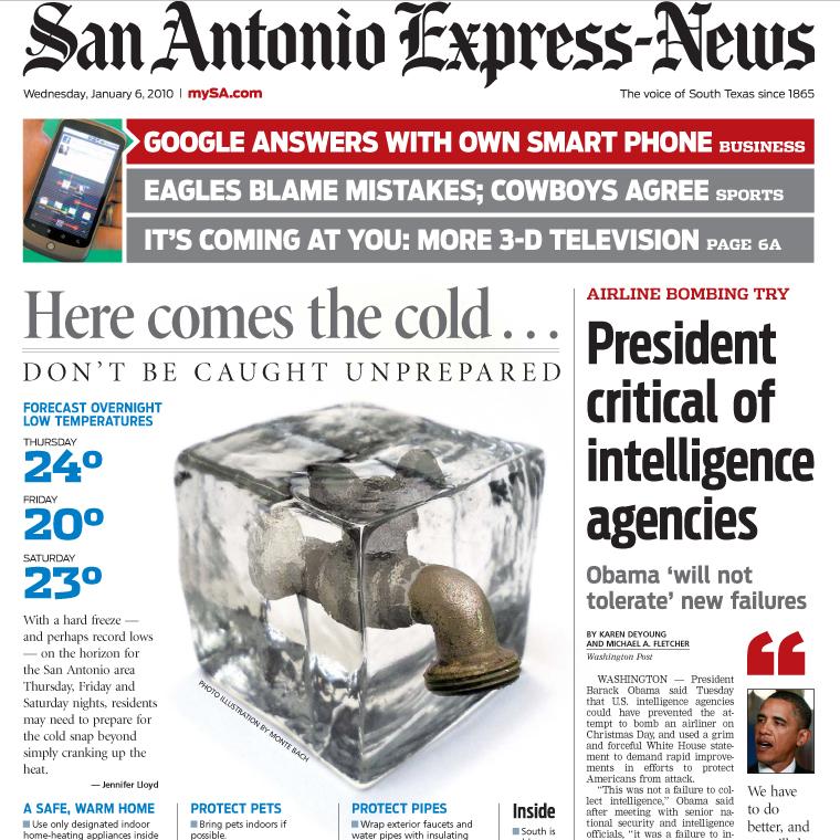 PERM Advertising San Antonio Express-News