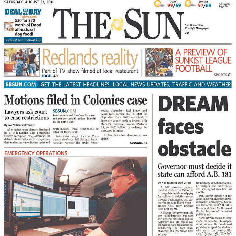 PERM Advertising San Bernardino Sun