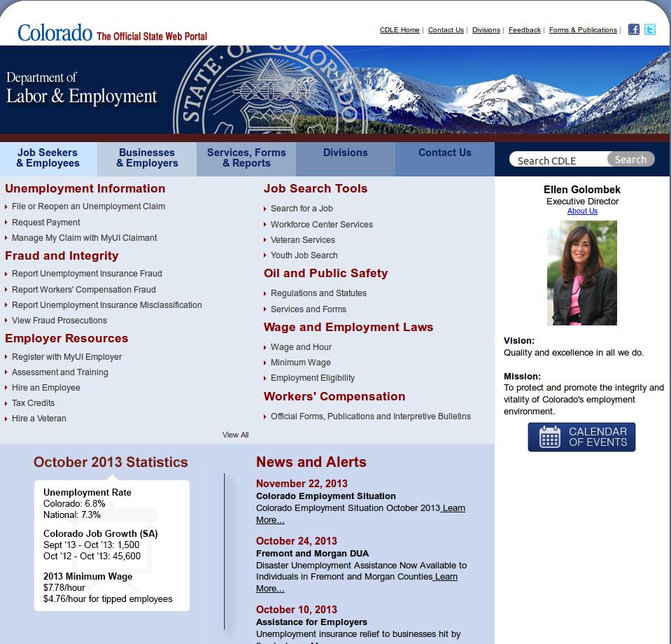 Colorado SWA Job Order PERM Ads Immigration Advertising
