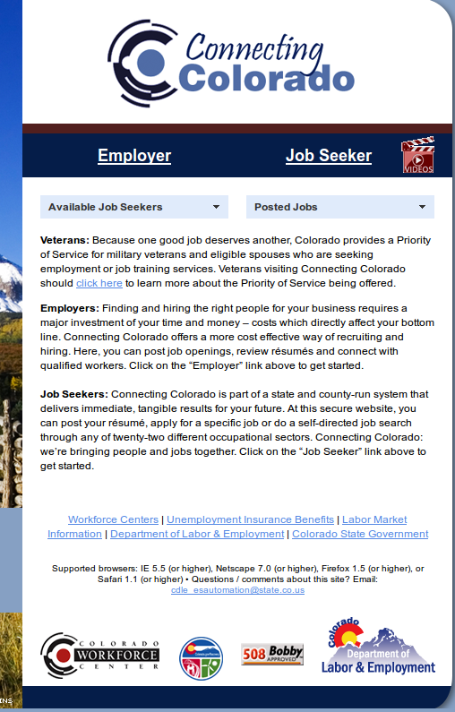 PERM Ads Immigration Advertising | Colorado SWA Job Order