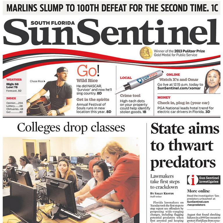 PERM Advertising South Florida Sun-Sentinel