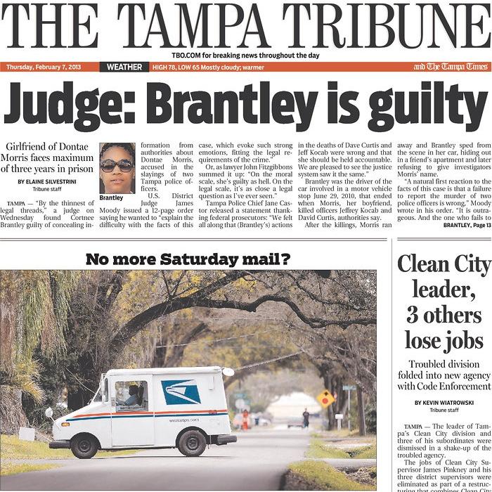 PERM Advertising Tampa Tribune
