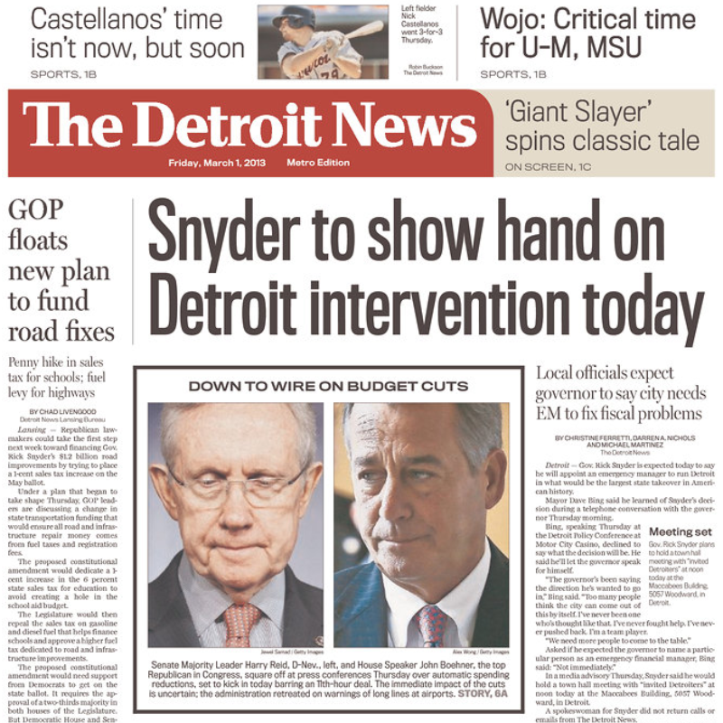 PERM Advertising The Detroit News