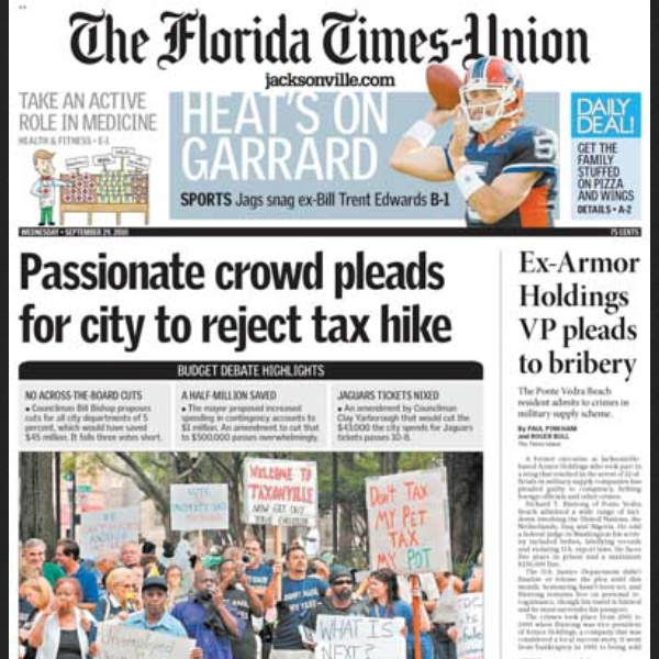 PERM Advertising The Florida Times-Union