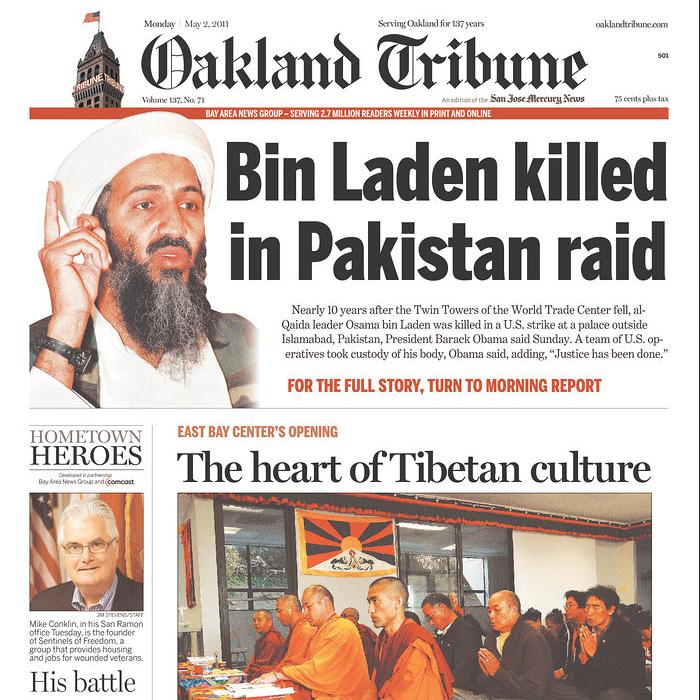 PERM Advertising The Oakland Tribune