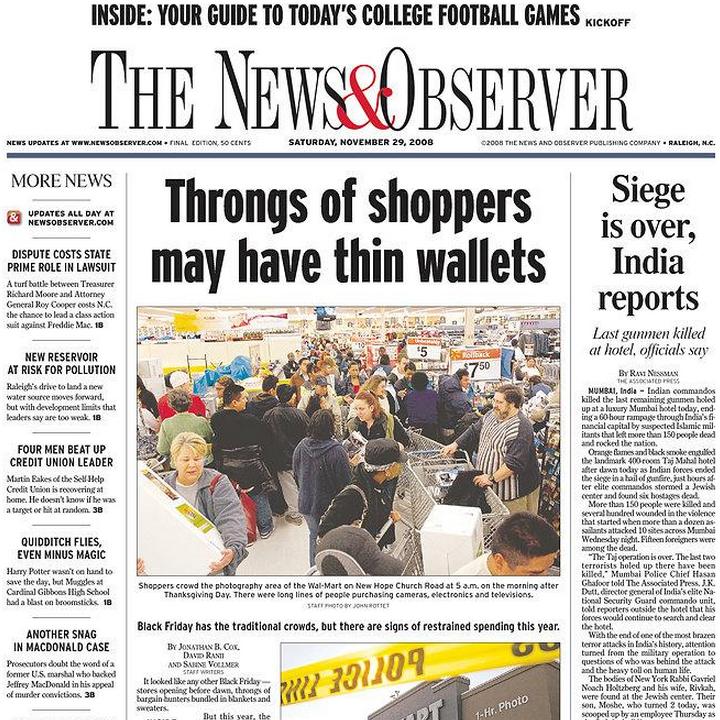 PERM Advertising News & Observer