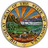 Official Seal of the State of Montana