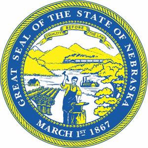 Official Seal of the State of Nebraska