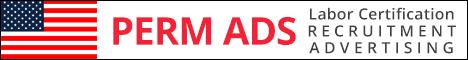 PERM Labor Certification Advertising